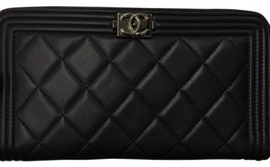 Chanel BNWT Chanel Long Zip Around Wallet