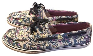Sperry Plum Ditsy Floral Athletic