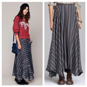 Free People Maxi Skirt gray