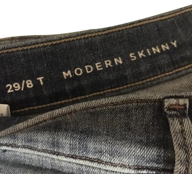 Preload https://img-static.tradesy.com/item/20629899/ann-taylor-loft-medium-blue-distressed-modern-skinny-jeans-size-29-6-m-0-1-650-650.jpg