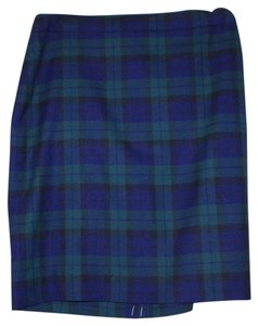 J.Crew Skirt green blue