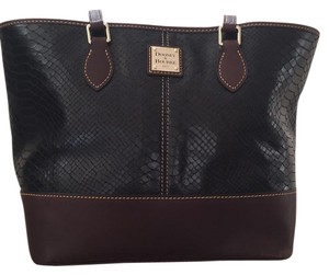 Dooney & Bourke Tote in Black Python