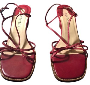 Ann Taylor Red Sandals