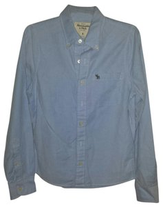 Abercrombie & Fitch Button Down Shirt baby blue