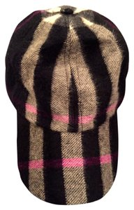 Burberry Burberry 100% Cashmere Nova Check baseball cap - Multi-color