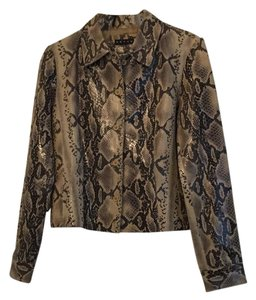 Other Snakeskin Python Snakeskin Leather Jacket