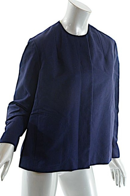 Ralph Lauren Cotton Navy Jacket Image 2