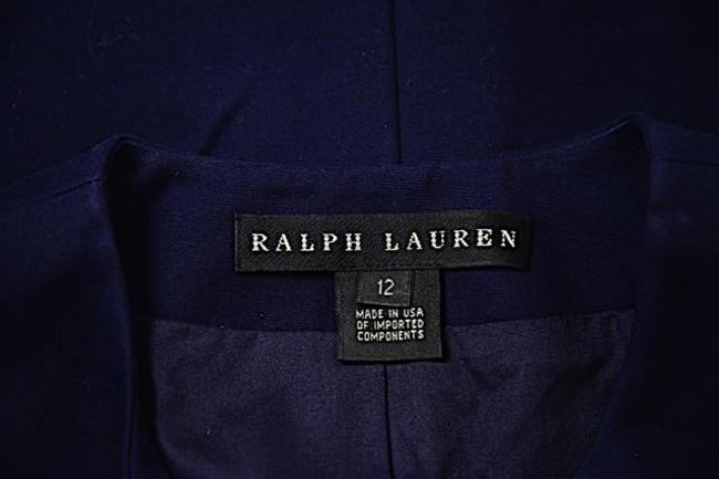 Ralph Lauren Cotton Navy Jacket Image 3