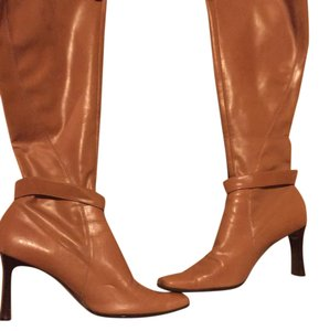 Nine West Cognac/Tan Boots