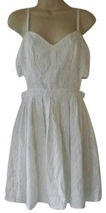 Sam Edelman short dress white on Tradesy