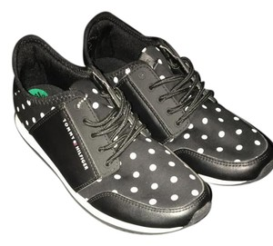 Tommy Hilfiger Sneaker Black with white polka dot Athletic