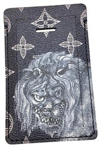 Louis Vuitton Luggage Tag Chapman Brothers Lion Limited Edition Black Travel Bag