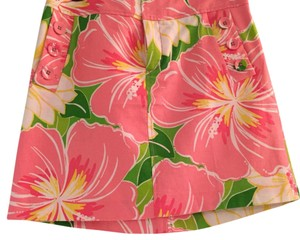 Lilly Pulitzer Skirt pink, yellow, green, white