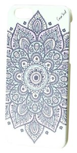Case Yard NEW White Wood iPhone Case with Dakota Mandala Design, iPhone 5