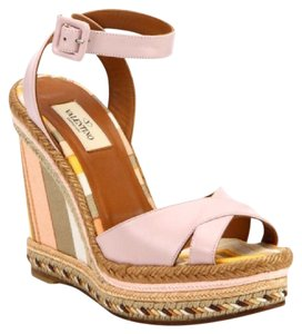 Valentino beige/light pink Wedges