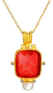 Venice Italy VENETIAN RED NECKLACE
