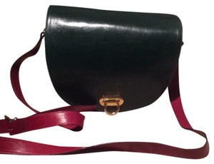 Furla Satchel in black red green