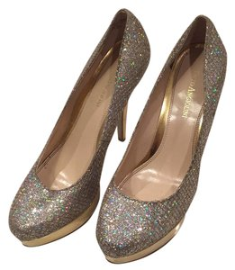 Enzo Angiolini Silver/Gold Platforms