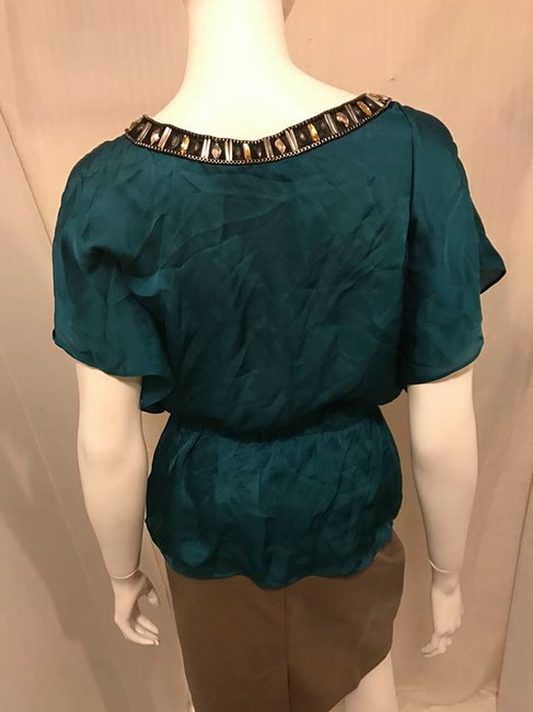 Bebe Blouse Top green Image 2