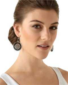 White House | Black Market Dangle Drop Hoop Earrings