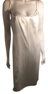 white Maxi Dress by Tahari underslip