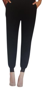 Romeo & Juliet Couture Jogger Relaxed Pants Black