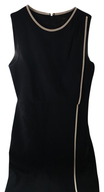 Item - Black with White Piping. Mid-length Work/Office Dress Size 4 (S)