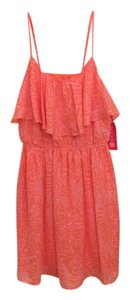 Lilly Pulitzer for Target short dress Orange and pink on Tradesy