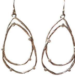 Silpada Interlocking Oval Earrings