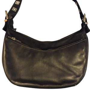 Perlina Studded Leather Shoulder Bag