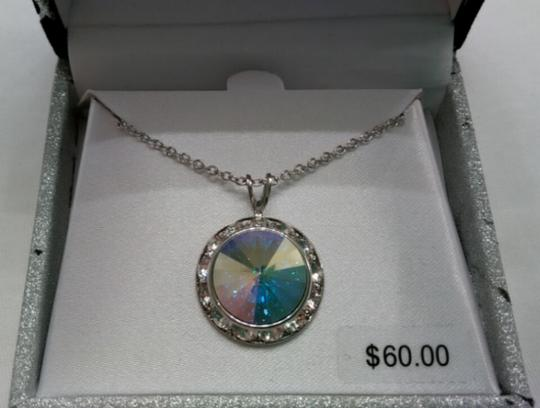 Swarovski Crystal Necklace with Gift Box Image 1