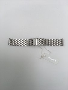 Michele NWT MICHELE 18mm Stainless Steel Watch Band
