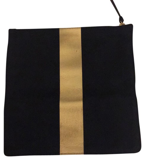 Clare V. Dark navy Clutch