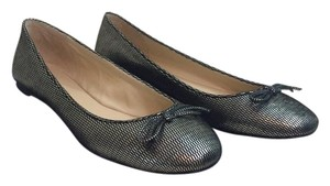 Via Spiga Almost New!Metallic silver Flats