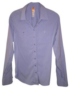 lucy Button Down Shirt blue