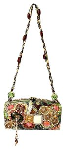 Mary Frances Beaded Box Evening Baguette