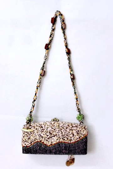 Mary Frances Beaded Box Evening Baguette Image 1