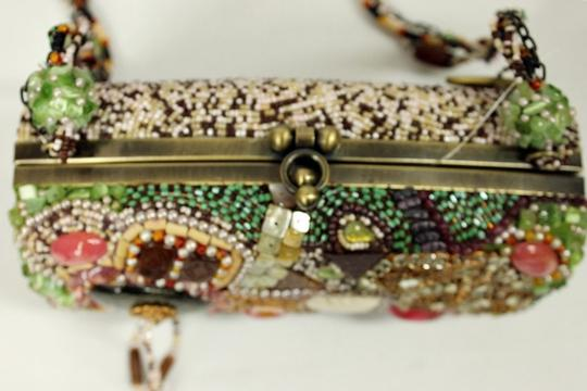 Mary Frances Beaded Box Evening Baguette Image 2