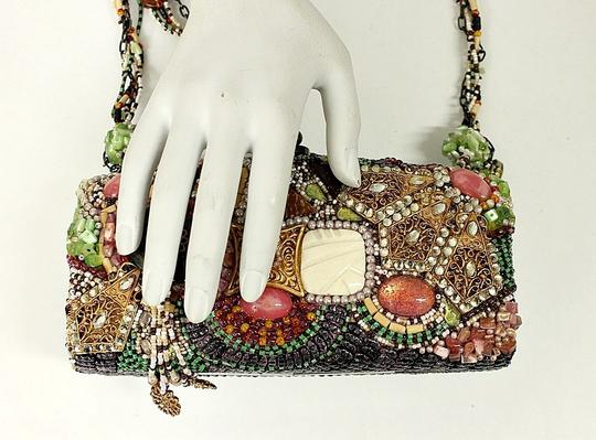 Mary Frances Beaded Box Evening Baguette Image 9