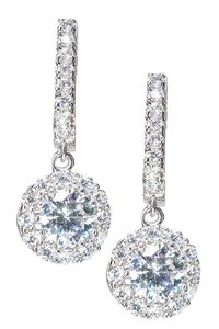 Kenneth Jay Lane CZ By Kenneth Jay Lane CZ Round Drop Earrings