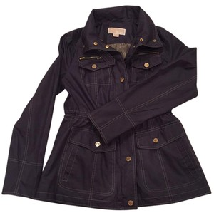 Michael Kors matte navy Jacket
