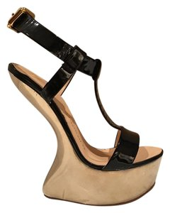 Giuseppe Zanotti Wed Sleek Luxury black Wedges