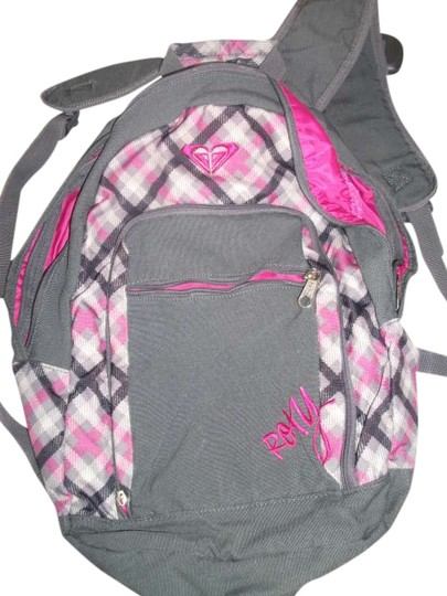 Preload https://item3.tradesy.com/images/roxy-gray-and-pink-backpack-206317-0-0.jpg?width=440&height=440