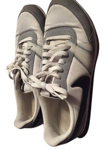 Nike Suede Logo Bold Stripe Bootie Chunky Light gray Athletic