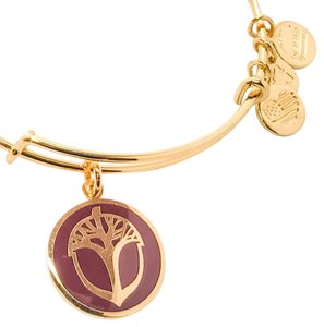 Alex and Ani Alex and Ani Unexpected Miracles Color Infusion Cabernet, YG