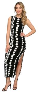 Black and White Maxi Dress by Kamalikulture Maxi Sexy