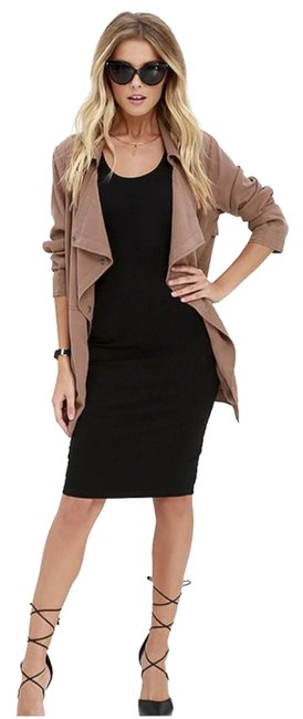 Item - Brown Fountain Washed Jacket Size 2 (XS)