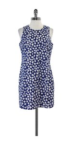 Kate Spade short dress Blue & White Floral on Tradesy