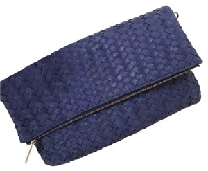 deux lux blue Clutch