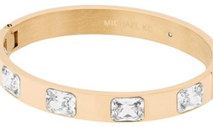 Michael Kors Michael Kors Crystal Station Bangle Bracelet